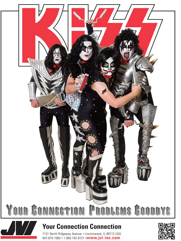 KISS themed marketing campaign